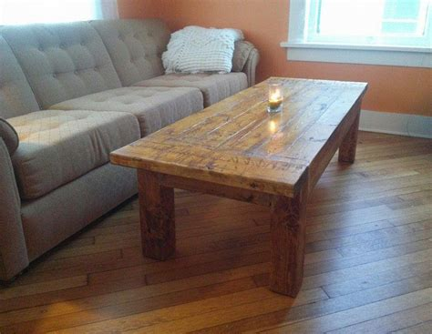 Large Rustic Coffee Table Diy