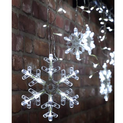 Large Snowflake Decorations For Light Posts