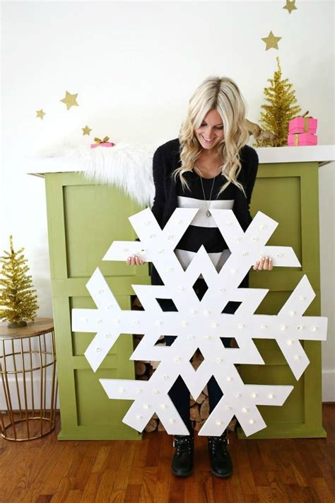 Large Snowflakes Diy