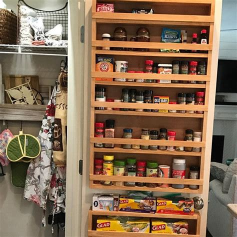 Large Spice Rack For Pantry Door