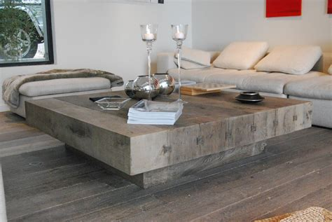 Large Square Coffee Table Plans