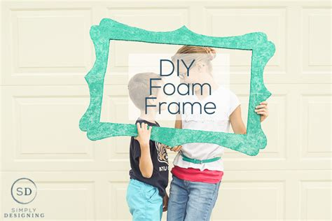 Large Styrofoam Picture Frames Diy