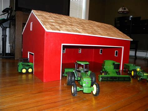 Large Toy Wood Barn