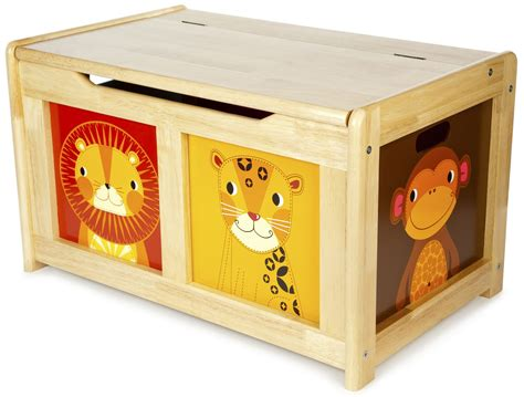 Large Wooden Toy Box UK