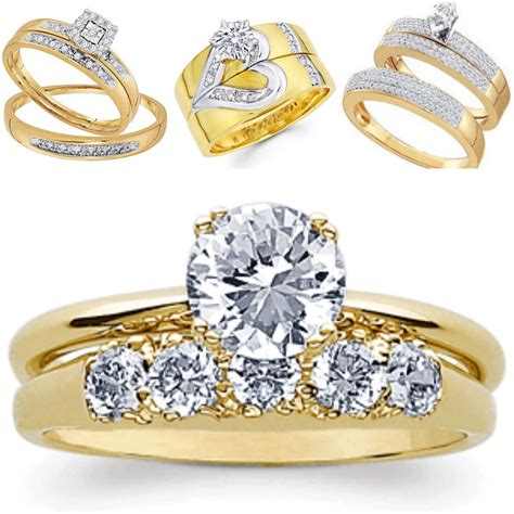 Large diamond rings - a choice of both women and men