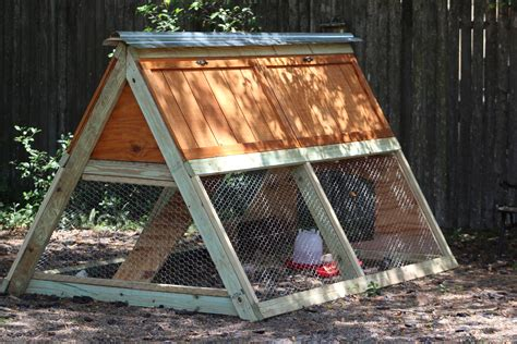 Large-A-Frame-Chicken-Coop-Plans