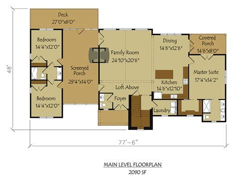 Large-Dog-Trot-House-Plans