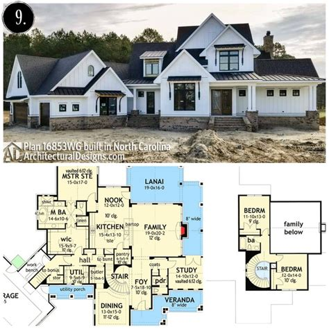 Large-Modern-Farmhouse-Plans