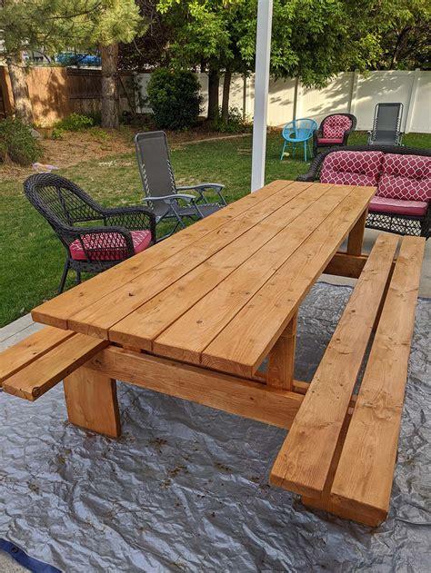 Large-Picnic-Table-Diy