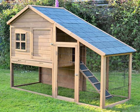 Large-Rabbit-Hutch-Plans