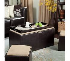 Best Large coffee table storage ottoman