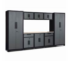 Best Large garage wall cabinets