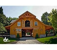 Best Large wooden barn plans