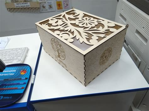 Laser Cut Wood Box Designs