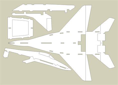 Laser-Cut-Airplane-Plans-Free