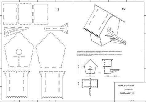 Laser-Cut-Birdhouse-Plans