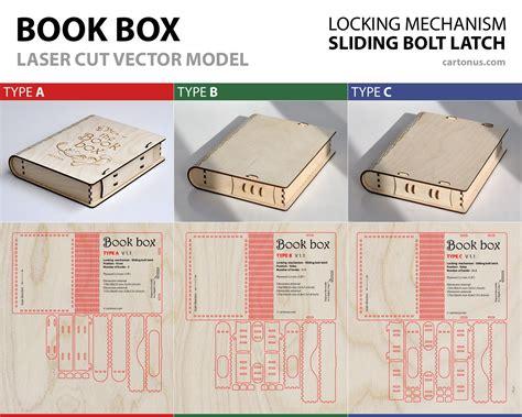 Laser-Cut-Book-Box-Plans