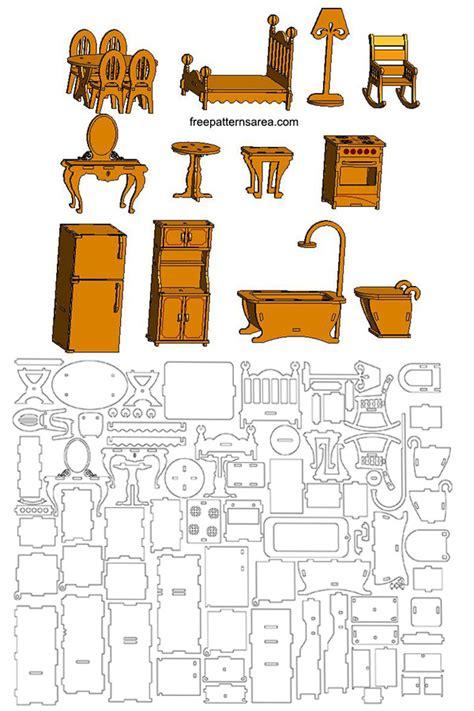 Laser-Cut-Doll-Furniture-Plans
