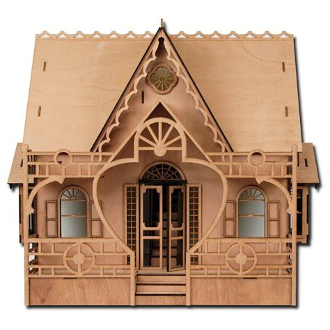 Laser-Dollhouse-Plans