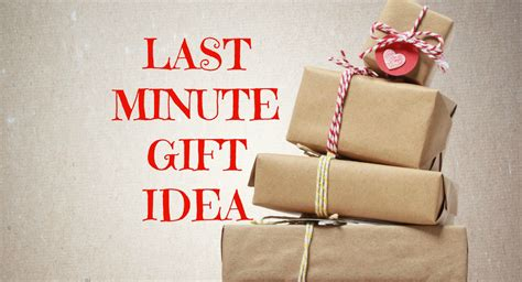 Last Minutes Gifts