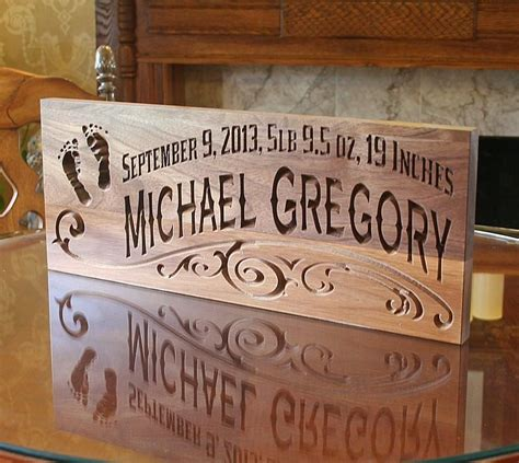 Last Name Rustic Wood Signs Diy For Baby