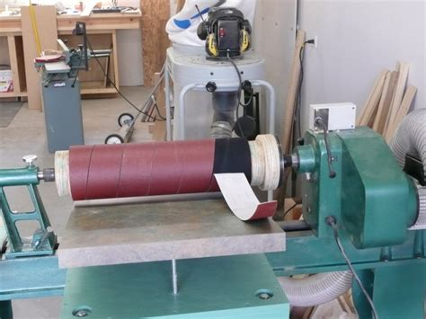 Lathe Drum Sander Plans To Prosper