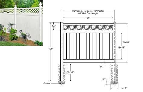 Lattice-Top-Fence-Plans