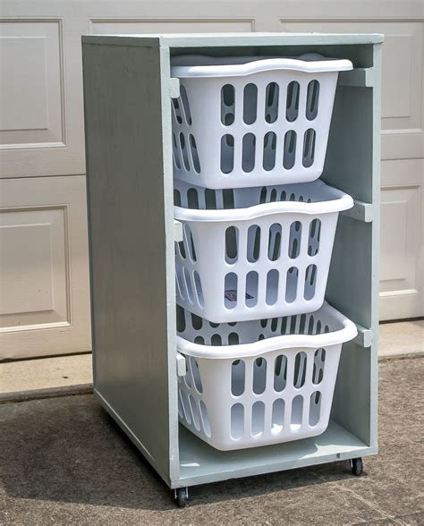 Laundry Basket Stand Diy