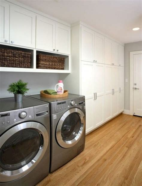 Laundry Room Stock Wall Cabinets