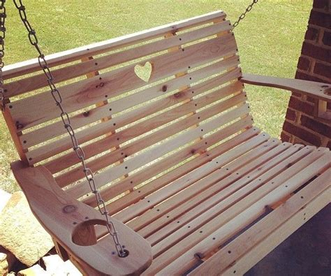 Lawn Swing Plans And Templates