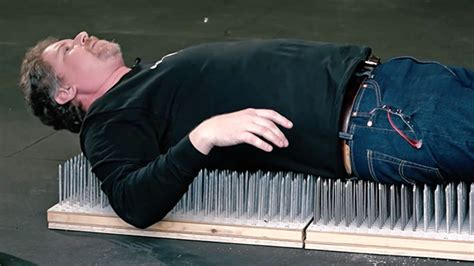 Lay On A Bed Of Nails