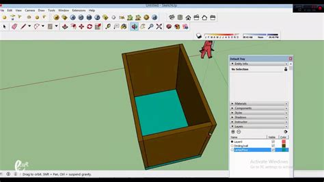 Layers In Sketchup Make