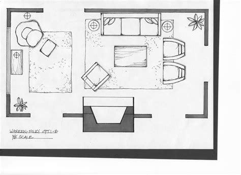 Layout Living Room Furniture Plan