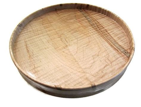 Lazy-Susan-With-Rim-Woodworking