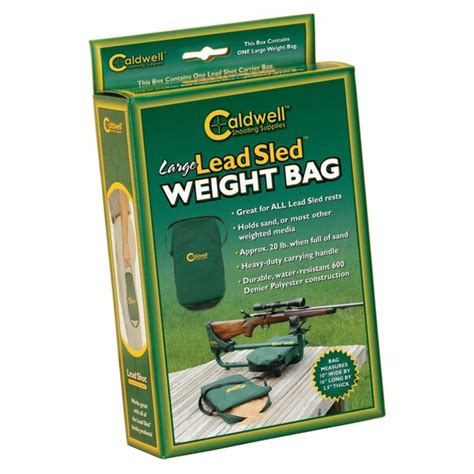 Lead Sled Large Weight Bag Caldwell Shooting Bugpy Co And Super Black Eagle Top Rated Supplier Of Firearm