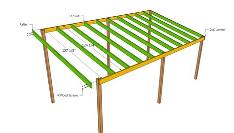 Lean To Carport Plans PDF