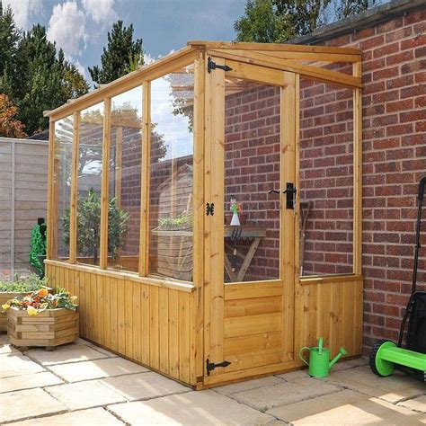 Lean To Greenhouse Plans Uk