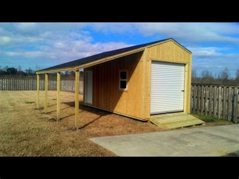 Lean To Shed Plans 10x20
