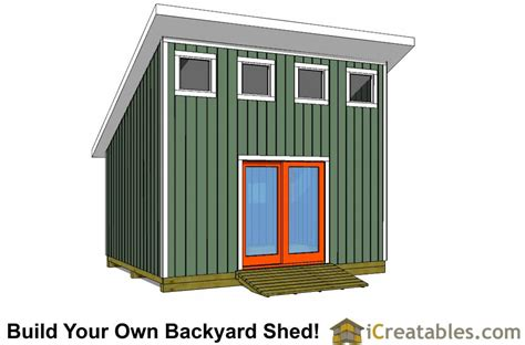Lean To Shed With Loft Plans