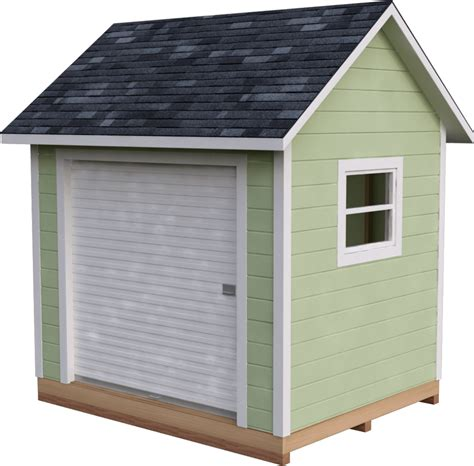 Lean To Storage Shed Plans 8x10 Gable Roof