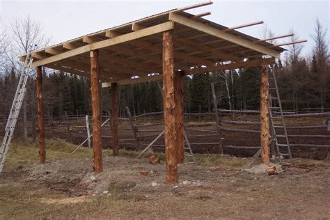 Lean To Style Pole Barn Plans
