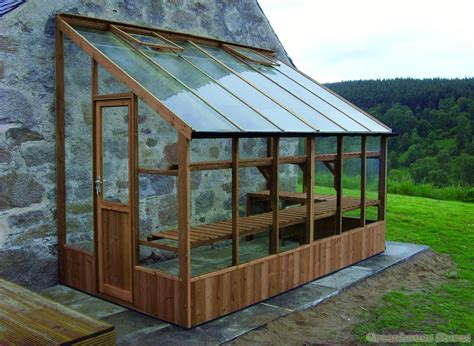 Lean-To-Glass-Greenhouse-Plans