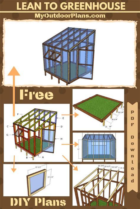 Lean-To-Greenhouse-Plans-Pdf