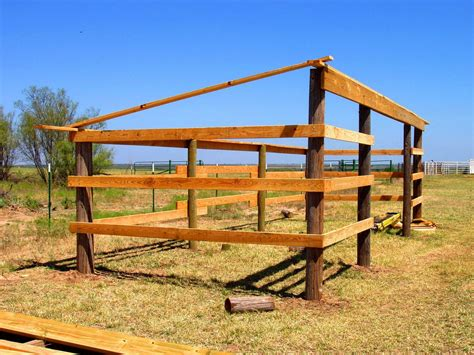 Lean-To-Horse-Shed-Plans