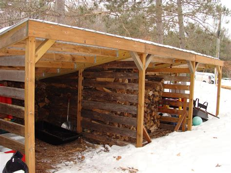 Lean-To-Open-Shed-Plans