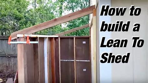 Lean-To-Shed-Building-Plans
