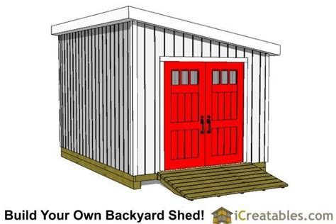 Lean-To-Shed-Plans-12x20