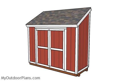 Lean-To-Shed-Plans-4-X-10