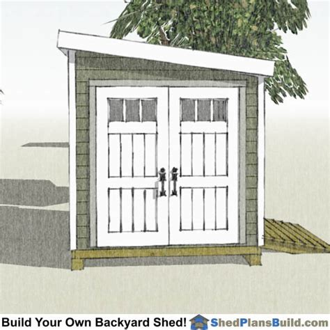 Lean-To-Shed-Plans-8-X-12