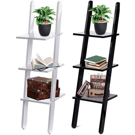 Leaning Ladder Bookcase Plans